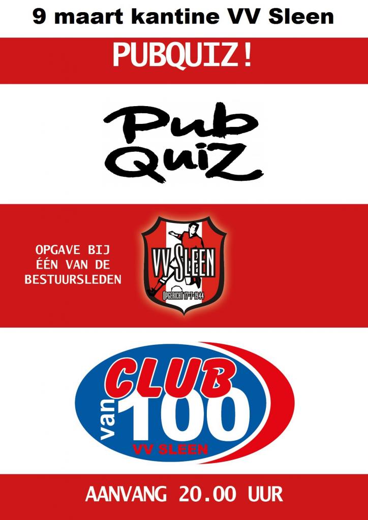 PubQuiz Club van 100